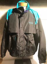 Vintage Divots VOLVO XXL Jacket Men's Golf Real Purple Black Windbreaker Sports