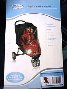 Baby Jogger Single Rain Canopy City Mini/City Mini 4 Wheel Non-Toxic