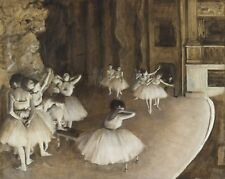 Edgar Degas Ballet Rehearsal on Stage 1000 pcs Jigsaw puzzles TOMAX Art Painting