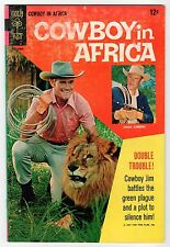 Gold Key - COWBOY IN AFRICA #1 - VG 1968 Vintage Comic