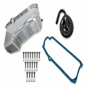Weiand 6502FWND Engine Oil Pan Kit For 95 Chevy Tahoe 5.7L NEW
