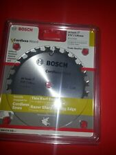 Bosch 136mm Circular Saw Blade 24t Fast Cut  For Wood - 10mm Bore