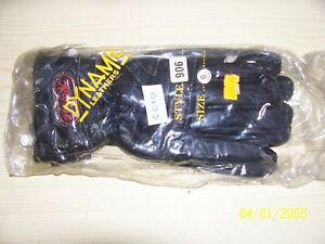 Dynamic leather motorcycle gloves XXL