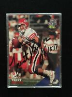 TRENT DILFER 1994 CLASSIC AUTOGRAPHED SIGNED AUTO FOOTBALL CARD FRESNO ST.