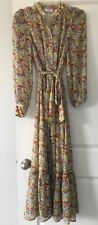 NWT & Other Stories Ruffled Floral Maxi Dress  Kate Middleton 36