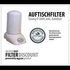 Coway Tischfilter, Wasserfilter + Wasserhahn-Adapterset inkl. Perlator