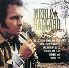 MERLE HAGGARD - THE VERY BEST OF - 2 CDS - NEW!!