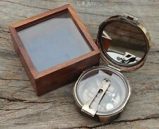 Kelvin & Hughes London 1917 Antique Brass Brunton Geological Compass
