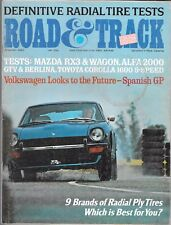 ROAD & TRACK MAGAZINE VOL. 23 #12 AUGUST 1972 (GD) MAZDA RX3