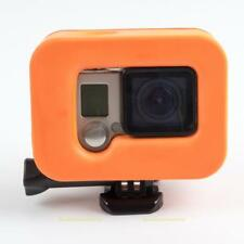 Waterproof Protection Floating Shell cover for GoPro Hero 5/4/3 Plus (Orange)