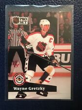WAYNE GRETZKY All-Star  1991-92 Pro Set French #285  NM/MT+ w/Top Loader!