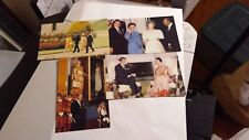 Four Coral-Lee politics postcards -- President Ronald Reagan with world leaders