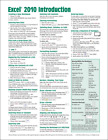 Microsoft Excel 2010 Introduction Quick Reference Guide (Cheat Sheet of Instr...