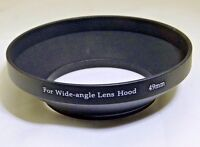 49mm Metal lens hood Wide Angle for 28mm 35mm f2.8 lenses screw in type Takumar