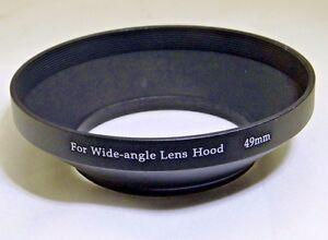 49mm Metal lens hood Wide Angle for 28mm 35mm f2.8 lenses screw in type Takumar
