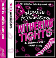 Withering Tights - Louise Rennison (5 Disc CD Unabridged Audiobook) Mint