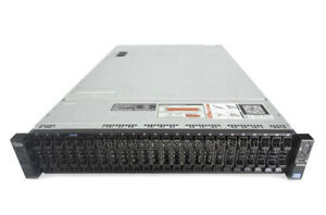 "Dell PowerEdge R720XD 2U Server -24x 2.5"" Drives SFF - H710 Raid"