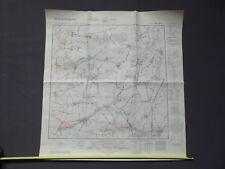 Landkarte Meßtischblatt 3770 Miloslaw, Liebenau, Bardo, Kreis Wreschen, 1940