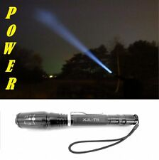 420 Lumen Zoom High-Power T6 LED Taschenlampe 2x 18650 Akkus Ladegerät