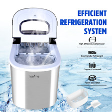 More details for 2.2l portable stainless steel ice maker machine electric ice cube maker 220v