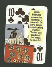 Dalton Trumbo Hollywood Screenwriter Exodus Spartacus Neat Playing Card #0Y6