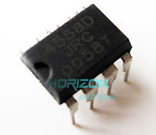 10pcs JRC4558D RC4558D 4558D OP AMP IC ICs DIP- 8 pin Low Power to TS9 TS808
