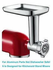 Food Meat Grinder Attachment for KitchenAid Stand Mixers with Sausage Stuffer