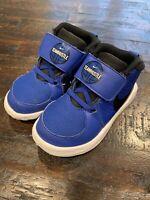 Nike Sneakers Size 9C Toddler Blue Team Hustle D9 AQ4226-400