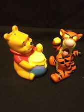 Disney Best Friends Winnie The Pooh And Tiger Salt And Pepper Shakers