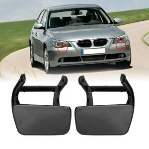 2X Scheinwerferreinigung Scheinwerferwaschanlage Blende für BMW E61 E60 DE