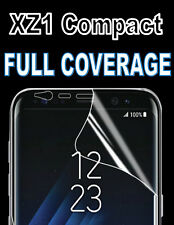 FULL COVERAGE HD SCREEN PROTECTOR COVER TPU 3D FILM FOR SONY XPERIA XZ1 COMPACT
