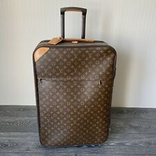 LOUIS VUITTON 100% Authentic Pegase 65 Leather Monogram Case