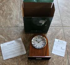 Nib Howard Miller 645-769 Palermo Tabletop Mantel Or Shelf Quartz Clock
