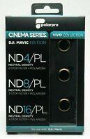 PolarPro DJI Mavic Pro (Platinum) ND Filter Set Cinema Series Vivid Collection