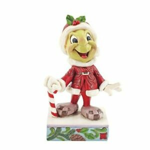Be Wise and Be Merry 6008986 Christmas Jiminy Cricket Figurine New & Boxed