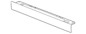 Genuine GM Panel Asm-Rad Lwr Mtg 22706966