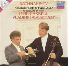 Rachmaninov: Sonata for Cello & Piano, Op. 29; Vocalise, Op. 34, No. 14 (CD, Lon