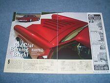 "1953 Studebaker Starlight Custom Article ""Red Star Burning Bright"" Chopped Top"