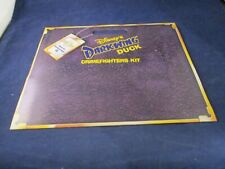 Disney's Darkwing Duck Crimefighters Kit Pizza Hut Promo w/ Coder + Poster