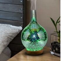 Stardust Essential Oil Diffuser Electric Humidifier Glass Colorful Vase Home 3D