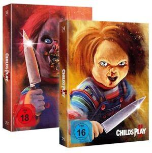 Chucky 2 + 3 (Piece of Art Box) (Blu Ray) NEU/OVP