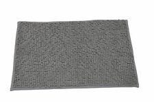 Furnily Alfombra Multifuncional Antideslizante 50 x 80cm Microfibra Alfombra de Ba/ño Gris