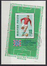 Football Sheet Hungarian Stamps