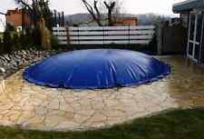 Aufblasbare Poolabdeckung Poolplane Rund 1360 g/m² , Individuelle Fertigung