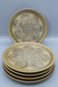 5 x A Hingham pottery side plates