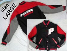 RARE HOLLOWAY TEAM PENSKE JACKET RACE JACKET Men's Size LARGE L Red/Black