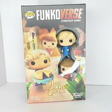 Funko Pop Funkoverse The Golden Girls Rose & Blanche Strategy Game #100