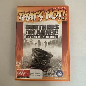 Brothers In Arms Earned In Blood PC DVD-ROM Game