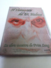 """DVD """"EL TESTAMENTO DEL DR MABUSE"""" 2DVD DIGIPACK FRITZ LANG EDICION COLECCIONISTA"""