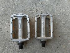 Old School Vtg Bmx Mongoose Supergoose Pedals 1/2